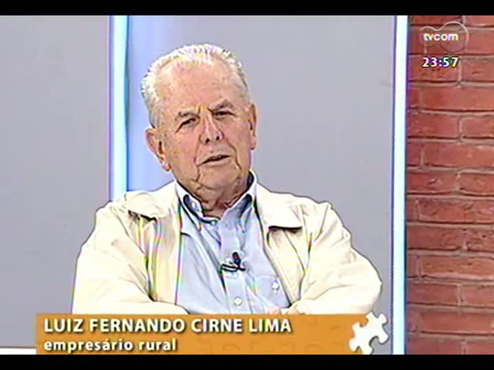 Mãos e Mentes - Empresário, ex-ministro da agricultura e fundador da Embrapa, Luiz Fernando Cirne Lima - Bloco 3 - 30/04/2013