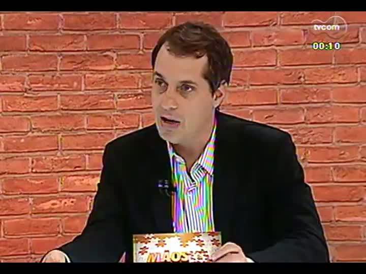 Mãos e Mentes - Diretor-técnico da SBPA Simuladores de Vôo, Luciano Zoppo - Bloco 4 - 02/05/2013