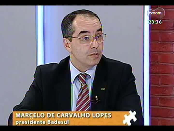 Mãos e Mentes - Presidente do Badesul, Marcelo de Carvalho Lopes - Bloco 4 - 26/05/2013