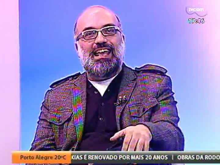 """Programa do Roger - Entrevista com dois atores do espetáculo \""""Luz Negra\"""" - bloco 1 - 04/06/2013"""