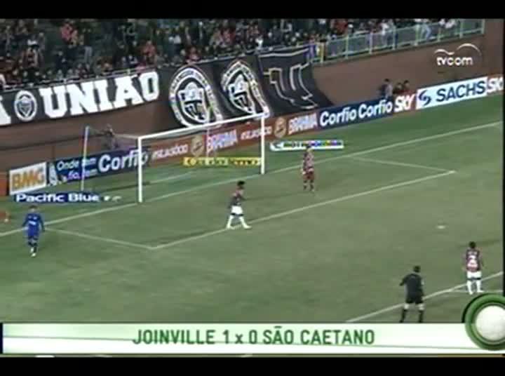 Bate Bola - Vitória do Joinville sobre o São Caetano.- 4º Bloco – 25-08-2013