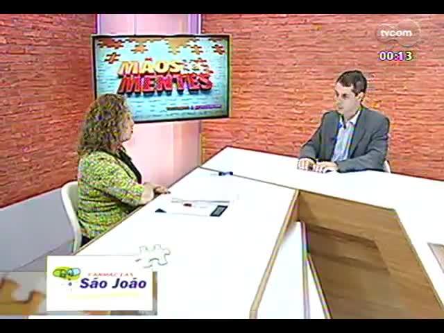 Mãos e Mentes - Secretária de Turismo do RS, Abgail Pereira - Bloco 4 - 09/10/2013