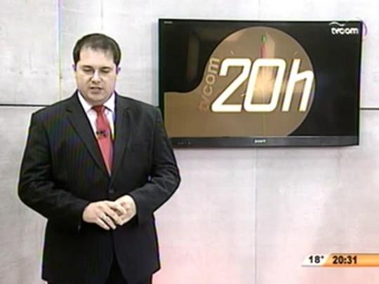 TVCOM 20 Horas - A prática Criminosa de Adicionar Produtos Químicos ao Leite Comercializado em SC - 3ºBloco - 20.08.14