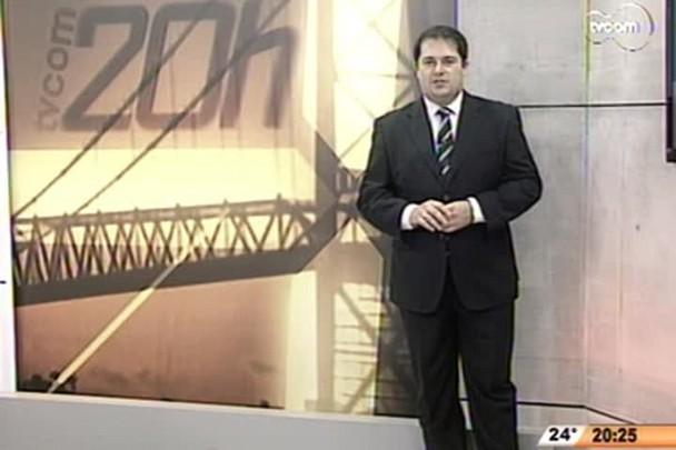 TVCOM 20 Horas - Começa hoje a substituição dos guardarails da SC-401 - 2º Bloco - 15/09/14