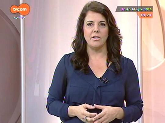TVCOM 20 Horas - Greve do Banrisul continua na capital e região metropolitana - Bloco 2 - 14/10/2014