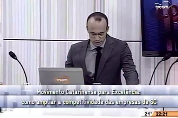Conversas Cruzadas - Como ampliar a competitividade das empresas de SC - 2º Bloco - 17/10/14
