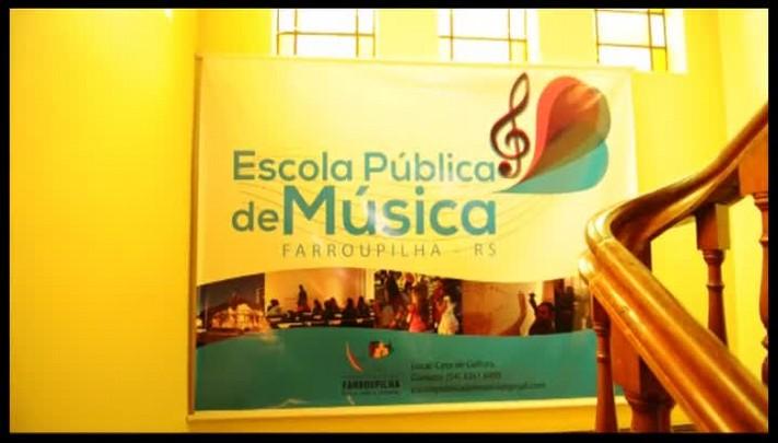 Escola Pública de Música de Farroupilha completa um ano de atividades
