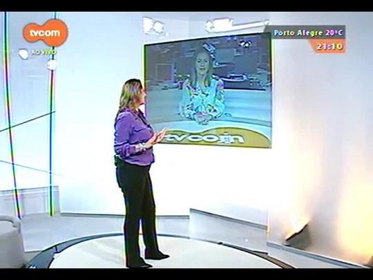 TVCOM Tudo Mais - Fernanda Pandolfi fala sobre a comemoração do primeiro ano da coluna \'Rede Social\'