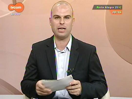 TVCOM 20 Horas - Presidente do TCE, Cézar Miola, comenta medidas financeiras duras anunciada por Sartori - 01/01/2015