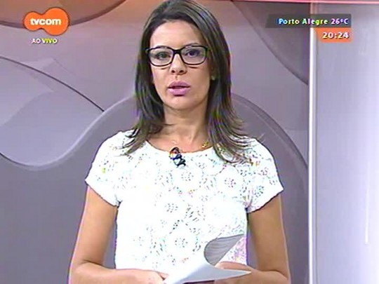 TVCOM 20 Horas - OAB/RS divulgou a criação de comitê que irá lutar pela qualificação do Aeroporto Salgado Filho - 22/01/15