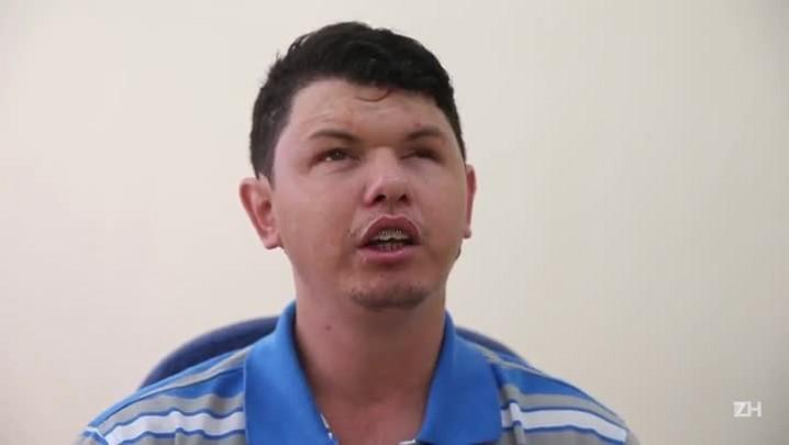 Os olhos roubados de Luis Fernando
