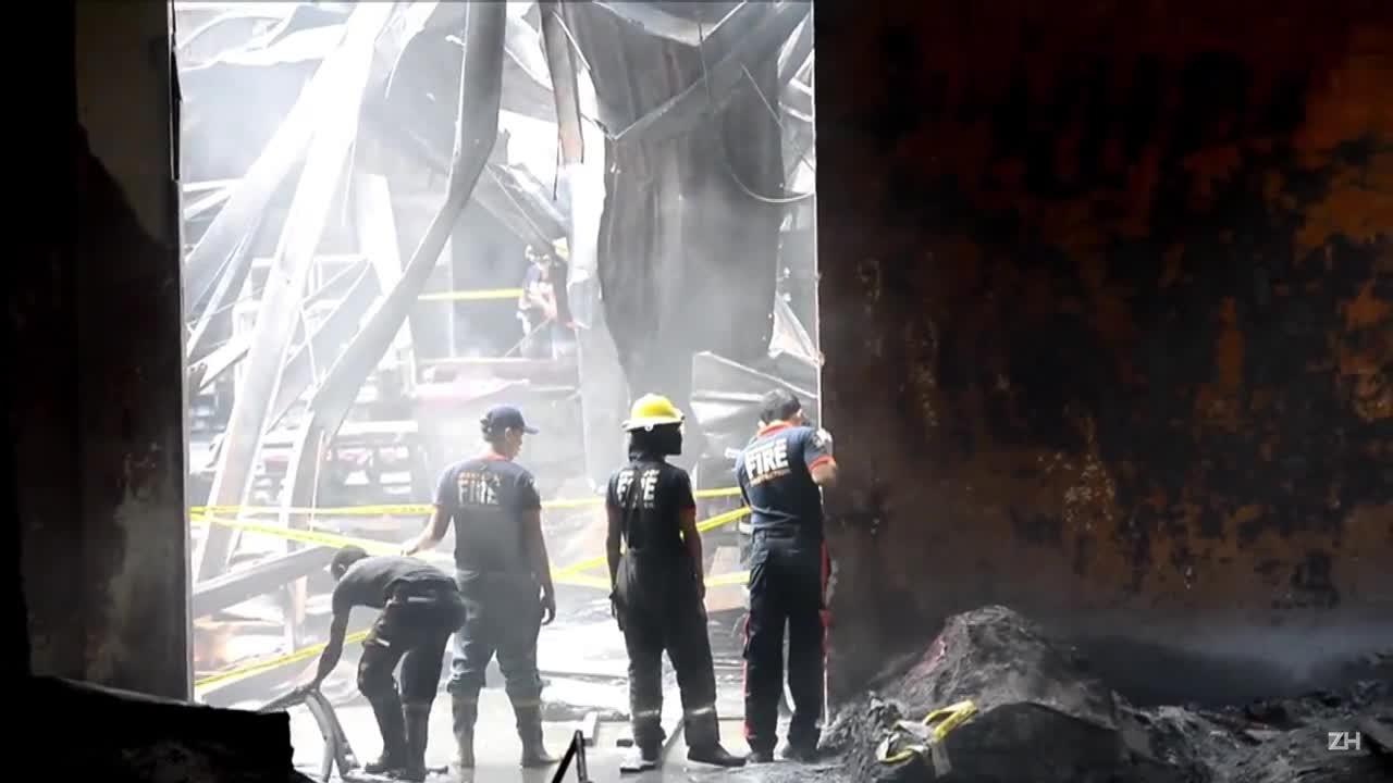 Incêndio em fábrica nas Filipinas deixou 72 mortos