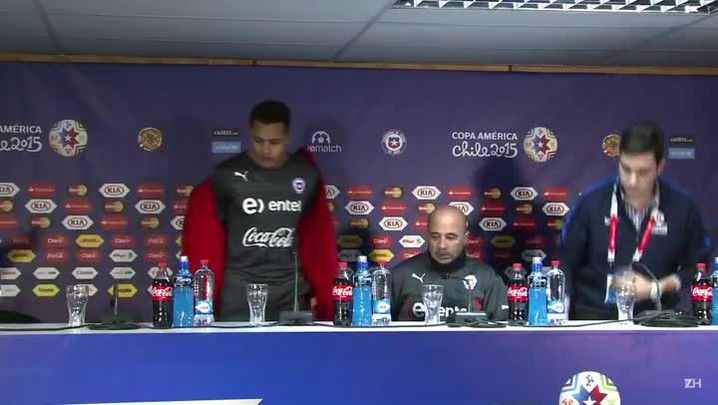 """Chile apoia Vidal \""""incondicionalmente\"""""""