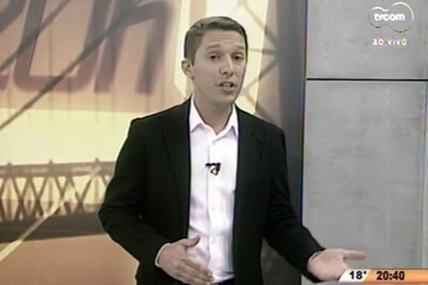 TVCOM 20 Horas - Porto de Itajaí sofre com a crise econômica e 40% dos trabalhadores podem ser demitidos - 02.07.15