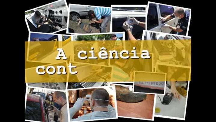 Web Documentário - A ciência contra o Crime