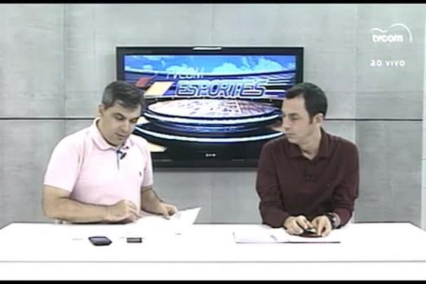 TVCOM Esportes. 3º Bloco. 25.03.16