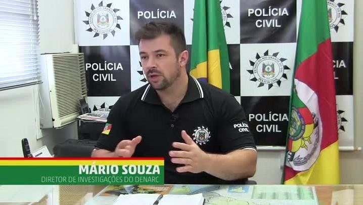 Refugiados do Tráfico: Delegado Mario Souza comandou a Operação Gênesis