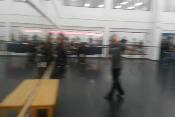 Equipe do AN participa de ensaio no Bolshoi