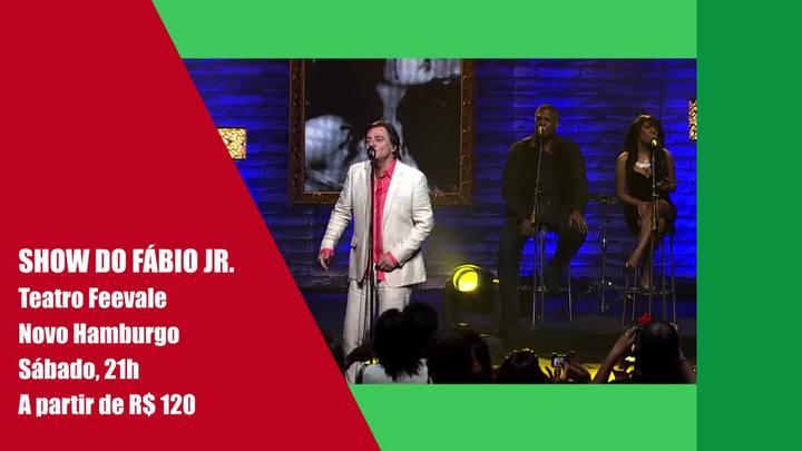 Show do Fábio Jr. e outros destaques deste fim de semana