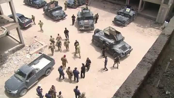 Forças iraquianas se aproximam de reduto do EI