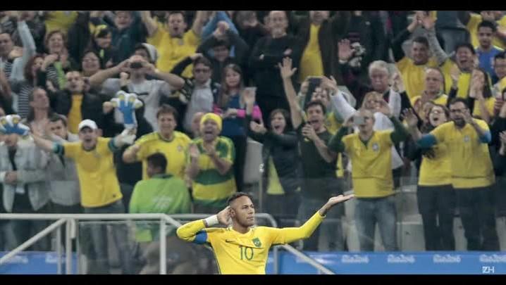 Brasil derrota Colômbia está nas semifinais