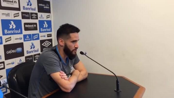 Marcelo Oliveira fala sobre seu desempenho no Grêmio