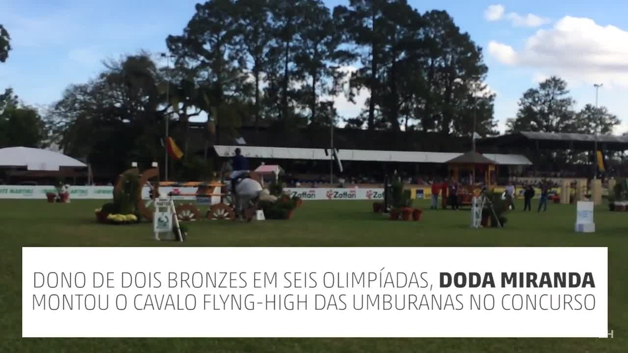 Veja apresentação do cavaleiro Doda Miranda em Porto Alegre