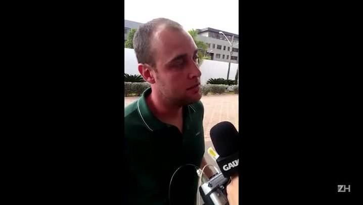 Goleiro Renan fala sobre situação do Inter