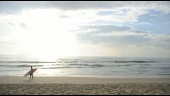 Primeiro dia de verão nas praias Mole e Joaquina, em Florianópolis