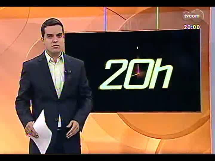 TVCOM 20 Horas - 02/01/13 - Bloco 1 - Balanço de mortes e acidentes no feriado de Natal e Ano Novo