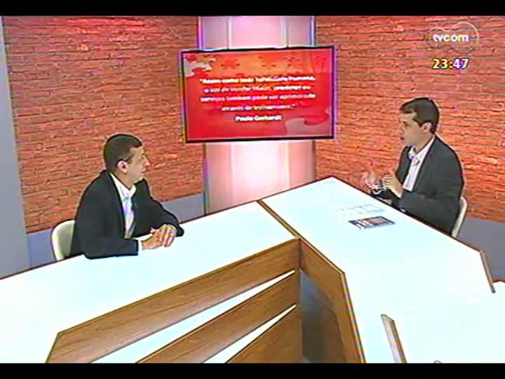 Mãos e Mentes - Sócio-diretor da Treinar, Paulo Gerhardt - Bloco 2 - 16/01/2013