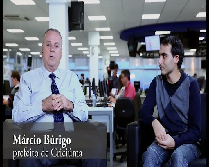 Conversa Política - Prefeito de Criciúma Márcio Búrigo
