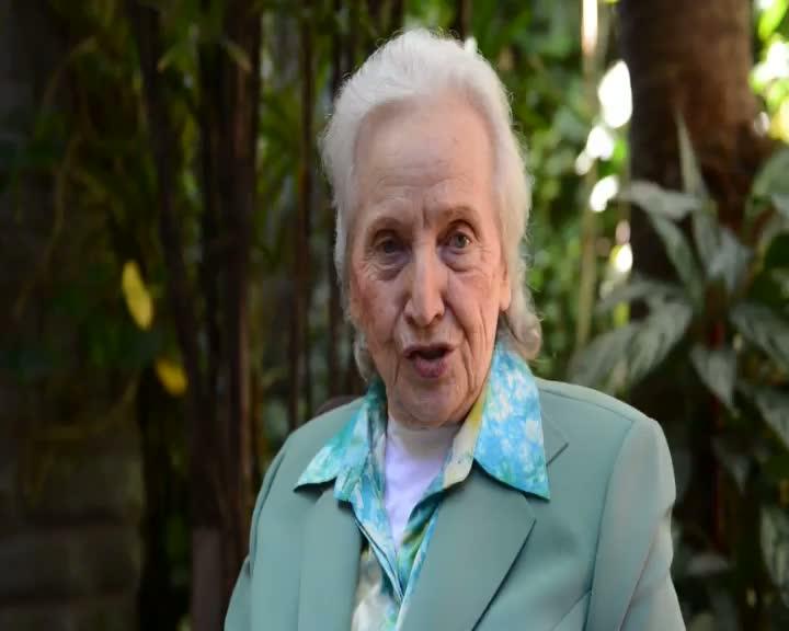 Dona Jenny fala sobre Itajaí