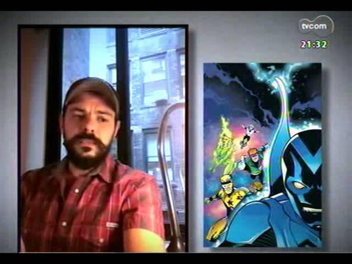 TVCOM Tudo Mais - TVCOM 360: Ilustrador gaúcho grava vídeo direto de Nova Iorque