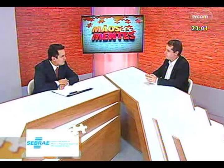 Mãos e Mentes - Presidente da ADVB/RS, empresário Telmo Costa - Bloco 1 - 08/09/2013