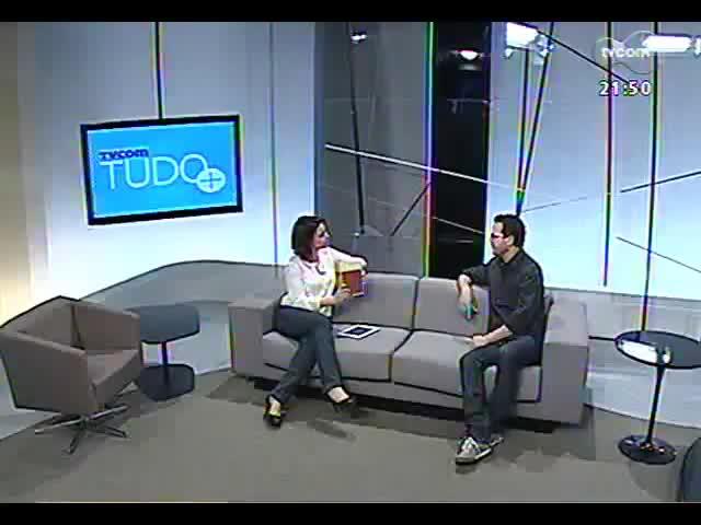 TVCOM Tudo Mais - Bate-papo com o escritor Caio Riter, uma das patronáveis à Feira do Livro de Porto Alegre de 2013