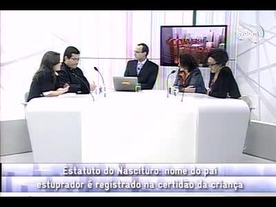 Conversas Cruzadas - Estatuto do Nascituro - 4º bloco – 04/10/2013
