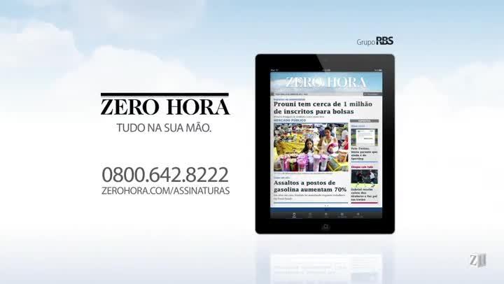 Leia na Zero Hora desta quarta-feira (16/10/2013)