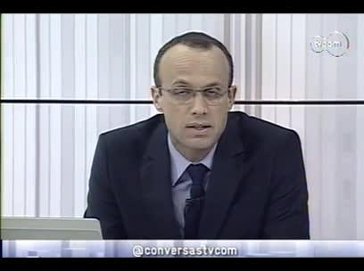 Conversas Cruzadas - Saúde e segurança dos esportistas - 2º bloco – 16/10/2013