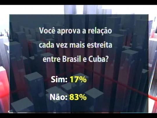 Conversas Cruzadas - É oportuna uma parceria econômica entre Brasil e Cuba? - Bloco 4 - 30/01/2014
