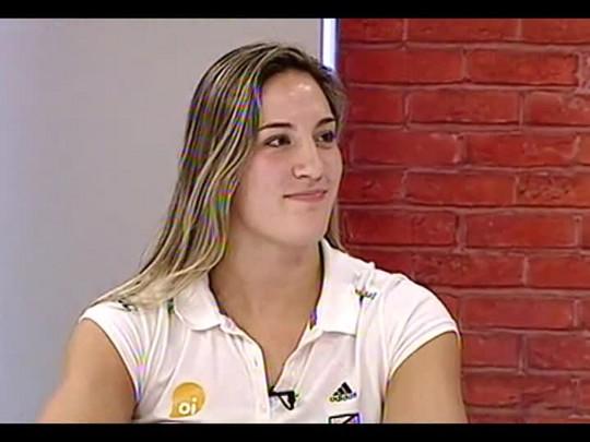 Mãos e Mentes - Judoca Mayra Aguiar da Silva- Bloco 4 - 30/04/2014