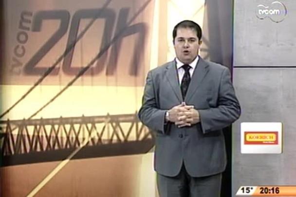 TVCOM 20 Horas - Oficializado o tempo dos candidatos no horário eleitoral de SC - 2º Bloco - 25/07/14