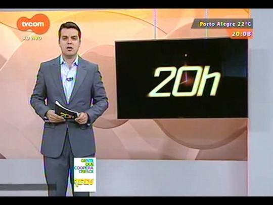 TVCOM 20 Horas - Polícia tenta encontrar assaltantes que ficaram 24h dentro de uma angência bancária na Capital - Bloco 2 - 08/09/2014