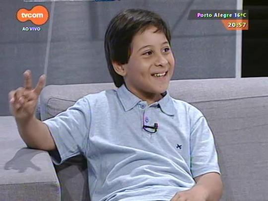 TVCOM Tudo Mais - Regina Lima conversa com Getúlio Fernandes da Silva na edição especial em homenagem ao Dia da Criança