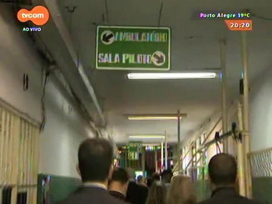 TVCOM 20 Horas - Presídio Central começa a ser destruído. Pavilhão C deve ser destruído nesta terça, dia 14 - Bloco 2 - 13/10/2014