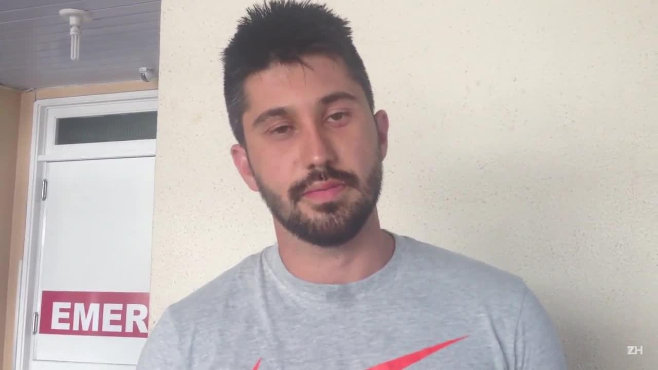 Maicon Silva da Silva conta como foi o acidente em Maquiné