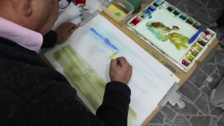 Aprenda a fazer uma aquarela com Joaquim da Fonseca