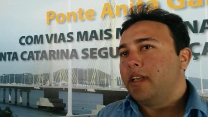 Confira entrevista com operário que participou de toda a obra da ponte Anita Garibaldi