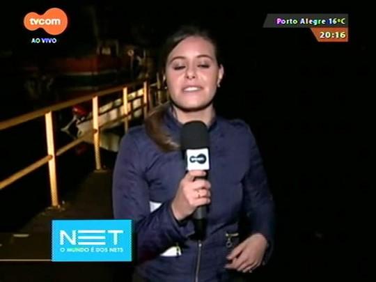 TVCOM 20 Horas - Repórter Vanessa da Rocha confere o problema de falta de água em Alvorada após as cheias