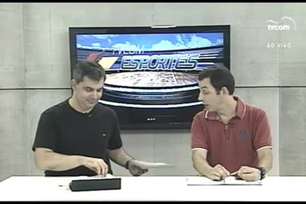 TVCOM Esportes. 1º Bloco. 24.02.16